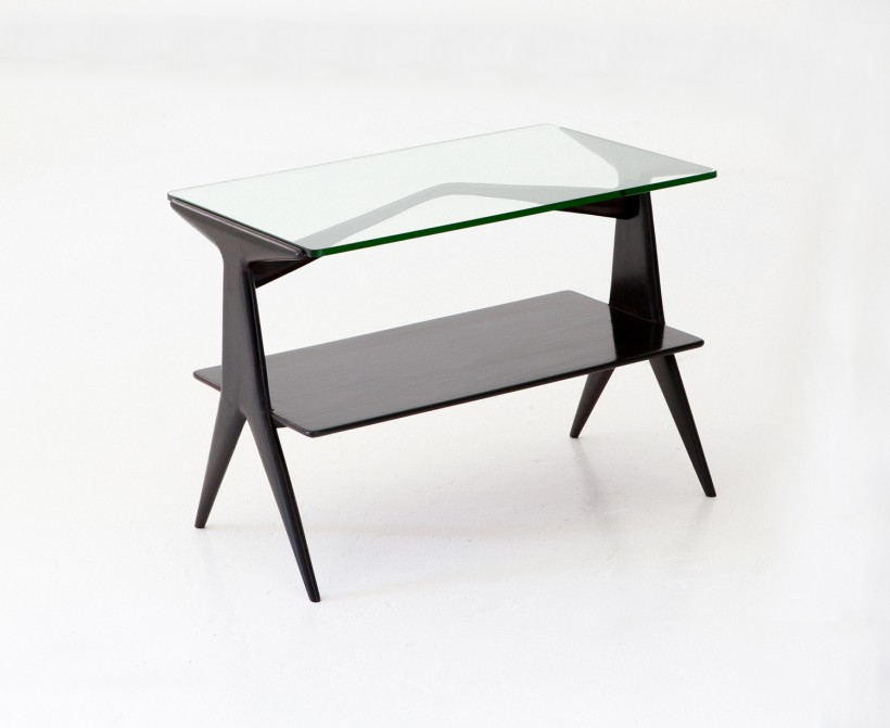 1950s Italian  modern small console table, T73